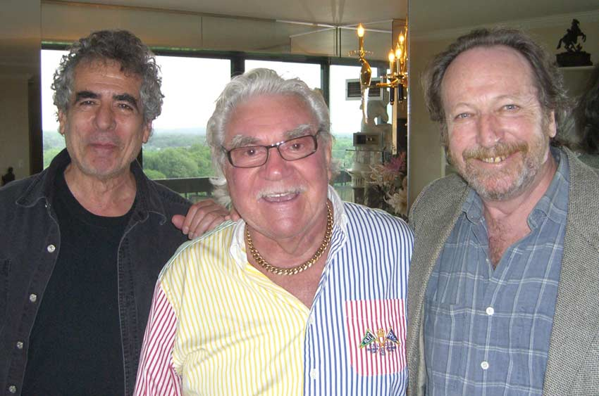Marty Hodas with Jamie Gillis and Dirty Larry (2009)